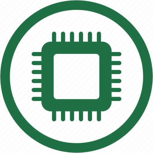 chip, chipset, cpu, device, microchip, technology icon