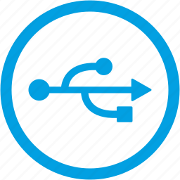computer, device, usb icon