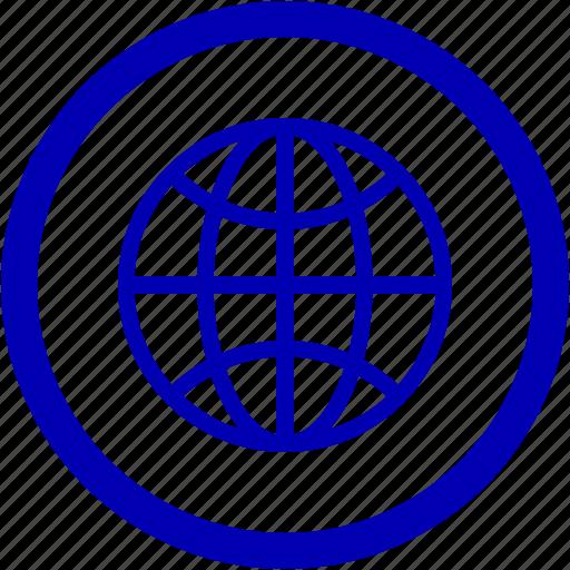 earth, global, world icon