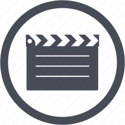 action, cinema, film, movie, video icon