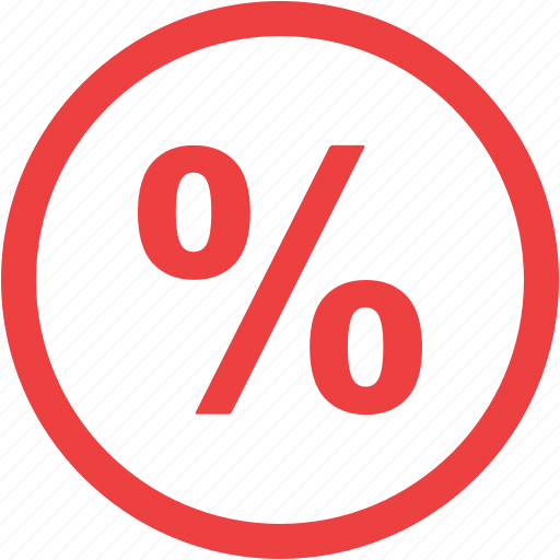 discount, percent, percentage, sale icon