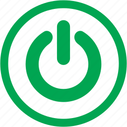 device, off, on, power, restart, turn off icon