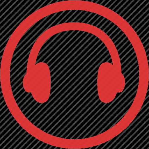 audio, device, headphone, multimedia, music, sound icon