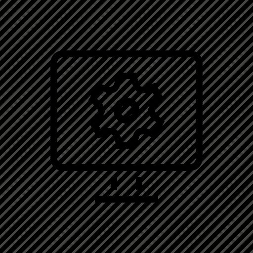 cogwheel, desktop, office, options, preferences, settings icon