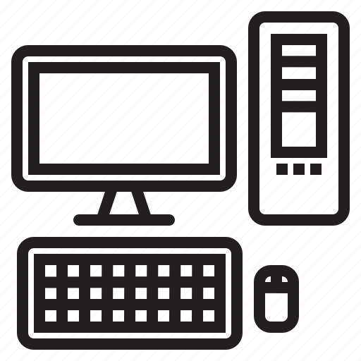 appliance, computer, destop, device, electronic, household icon