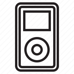 appliance, device, electronic, media, music, player icon