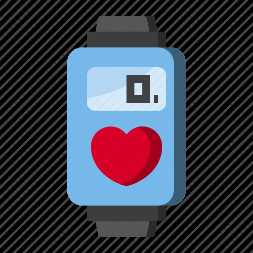 device, digital, screen, watch icon