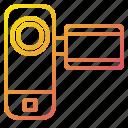 cam, camera, device, movie icon