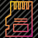 card, device, mobile, sim icon