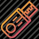 computer, device, flashdrive, storage icon