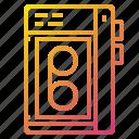 device, record, retro, tape icon