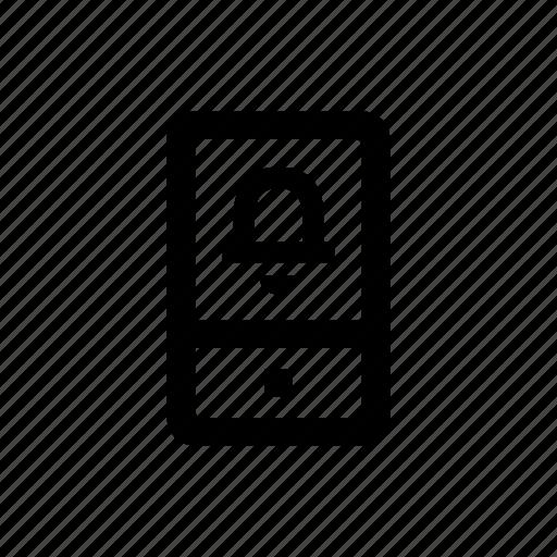 alert, device, mobile, phone icon