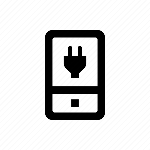 charging, device, mobile, phone icon