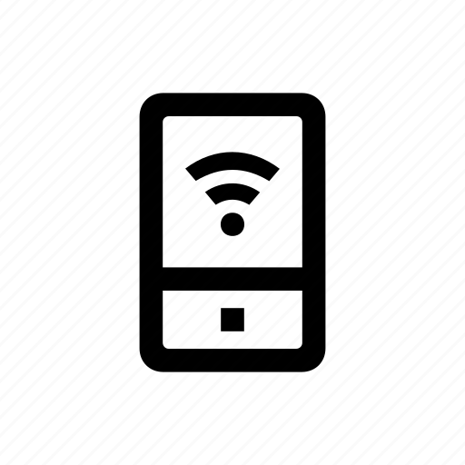connection, device, mobile, phone icon