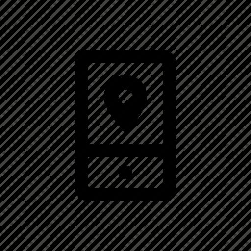 device, location, mobile, phone icon