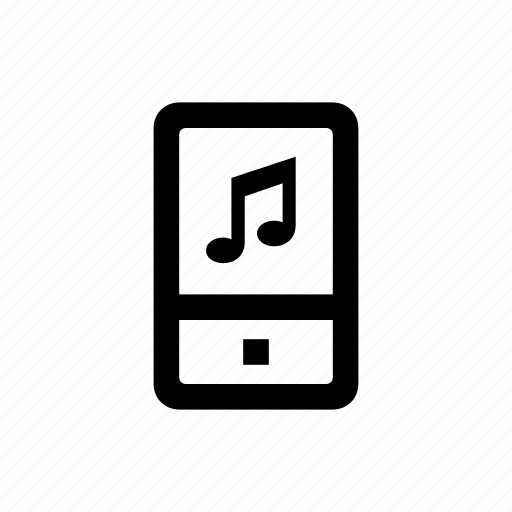 device, mobile, phone, ringtone icon