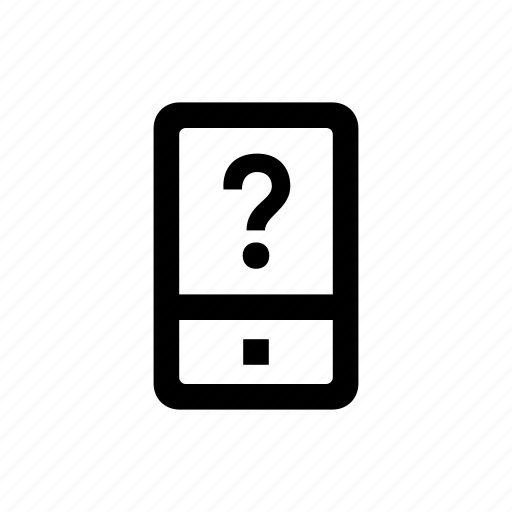 device, mobile, phone, unknown icon
