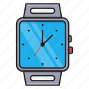 device, gadget, smartwatch, time, wristwatch