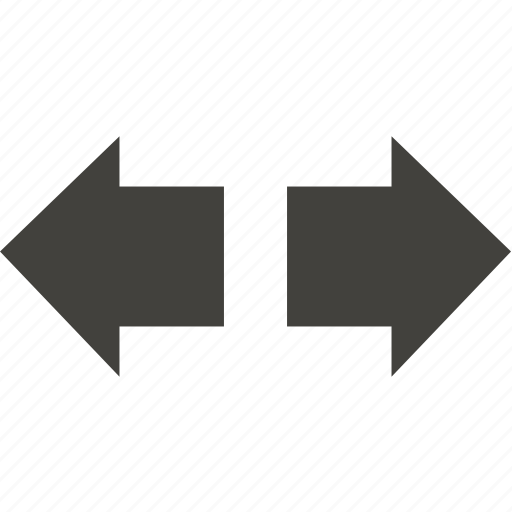 arrow, left, navigation, right icon