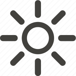 electric, energy, light, sun icon