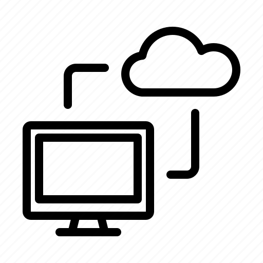 Cloud, computer, storage icon - Download on Iconfinder