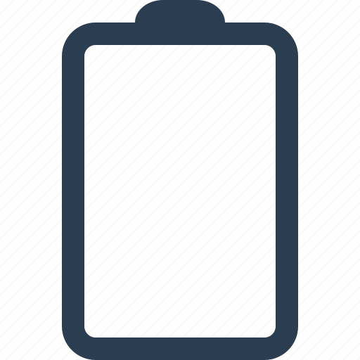 battery, charge, device, empty, energy, power icon