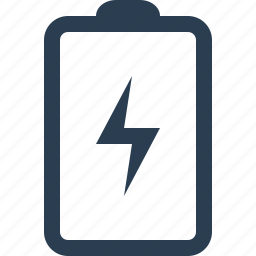 battery, battery charging, charge, energy, power icon