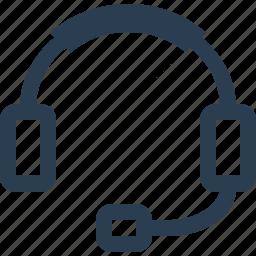audio, device, headphones, music, sound icon