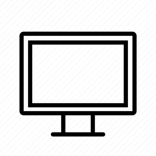computer, device, monitor, screen, technology, television, watch icon