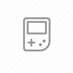 gameboy, gaming, play, player icon