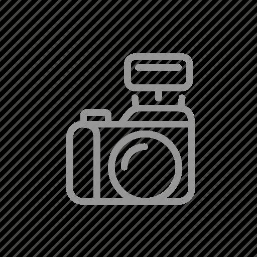 camera, digital, flash, photography icon