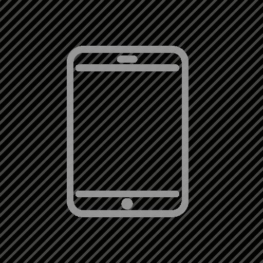 display, ios, ipad, tablet icon