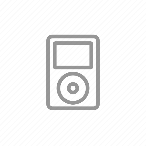 ipod, mp3, music, player icon
