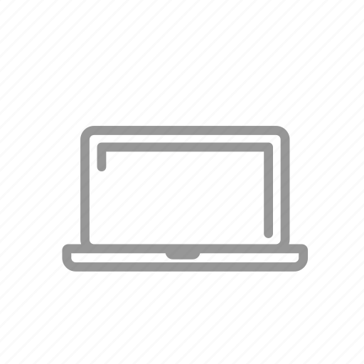 computer, laptop, macbook, notebook icon