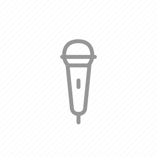 karaoke, mic, microphone, multimedia icon