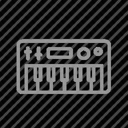 instrument, multimedia, music, synthesizer icon