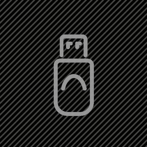 data, drive, flash, usb icon
