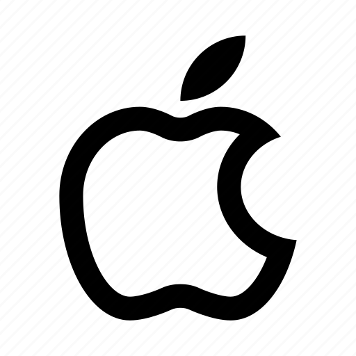 apple, logo, mark icon