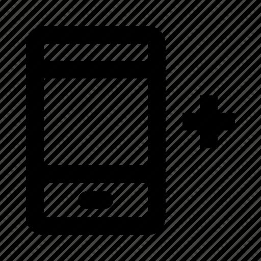 add, smartphone icon