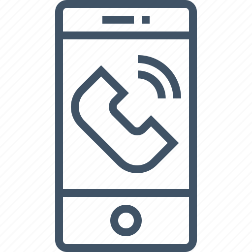 call, cell, mobile, phone, smart icon