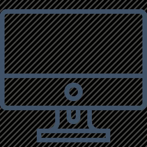 computer, desktop, display, monitor icon