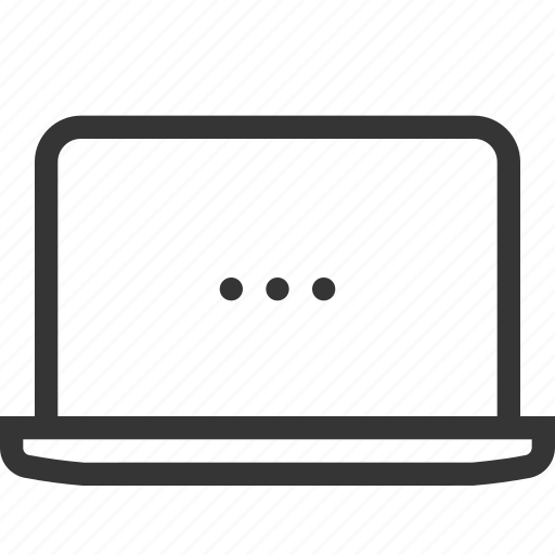 computer, device, electronic, gadget, laptop, mobile, notebook icon