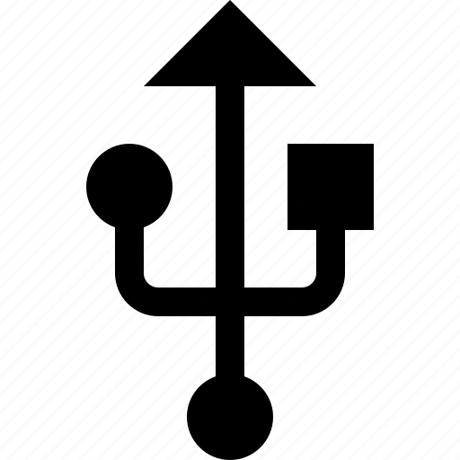 data, port, sign, transfer, usb icon