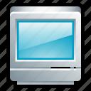 computer, desktop, mac, macintosh, my computer, classic, crt icon