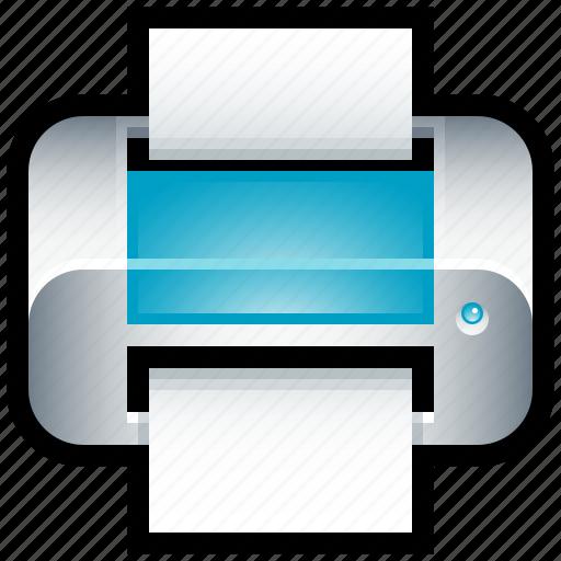 copy, dotmatrix, ink, inkjet, laser, print, printer icon