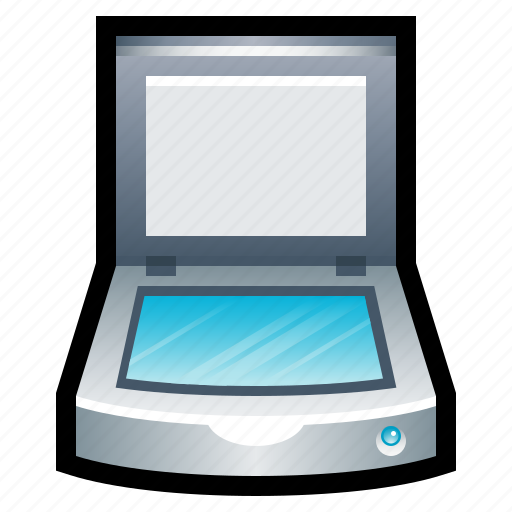 copy, flatbed, photocopy, print, scan, scanner icon
