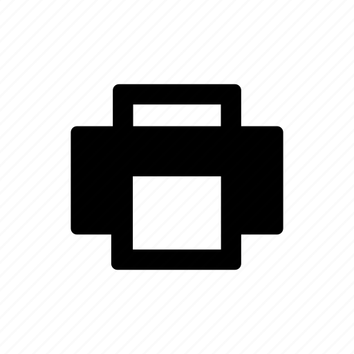 print, printer, sheet, text icon