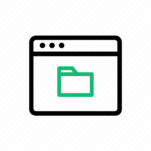 browser, cloud, file, folder, saving, share, storage icon