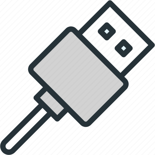 devices, file, storage, usb icon
