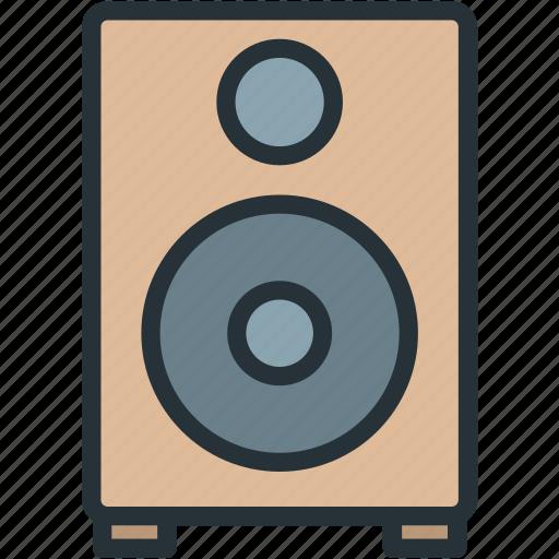 devices, music, sound, speaker icon